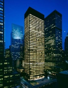 Seagram Building Courtesy of wikiarquitectura.com
